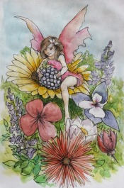 Flower fairy - Foxglove